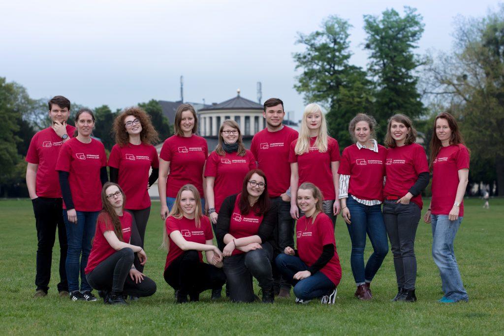 Das Team der 18. Skandinavischen Filmtage